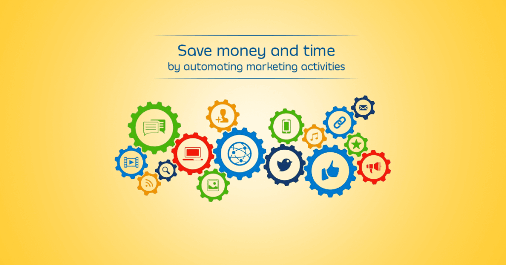 Save money and time by automating marketing activities