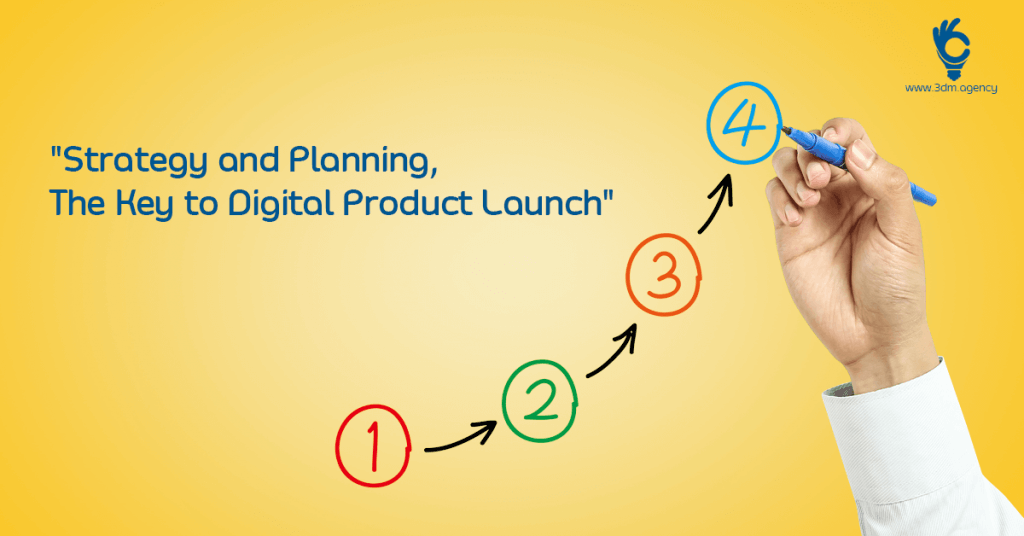 """""""Strategy and Planning – The Key to Digital Product Launch"""""""
